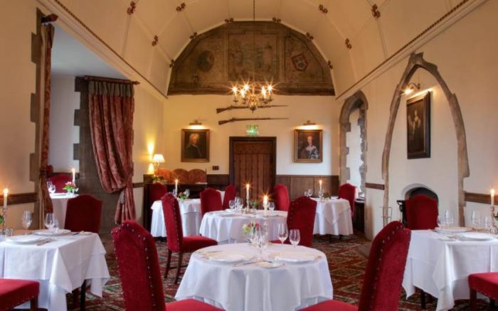 Arundel Castle, restaurante do Amberley Castle