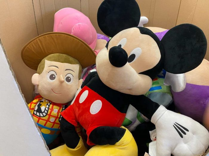 Pelúcia do Mickey