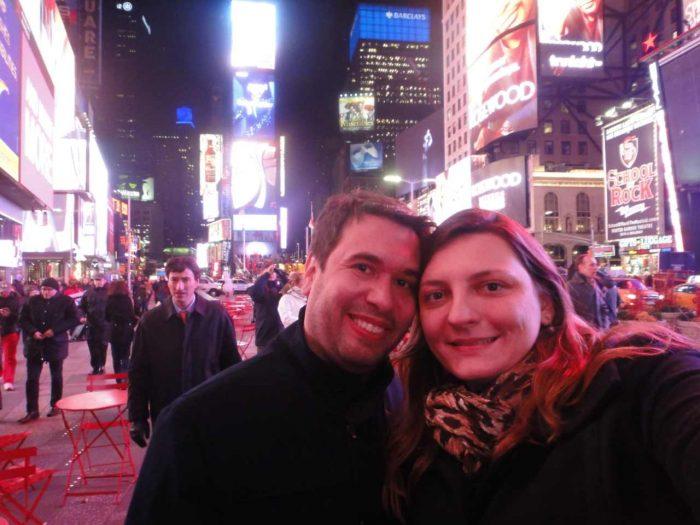 A Times Square é um local bastante procurado pelos visitantes de Nova York