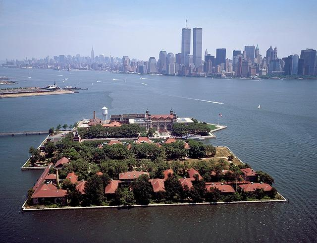 Ellis Island, em Nova York
