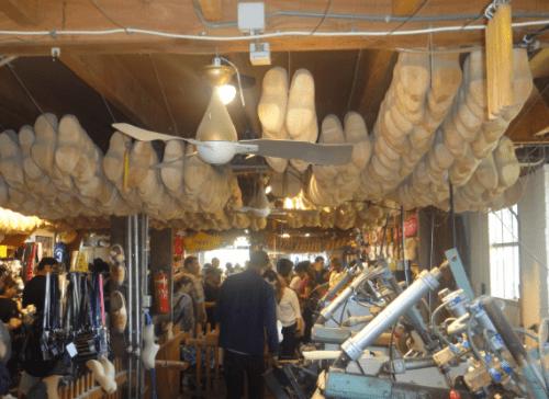 Fábrica de tamanco na Holanda
