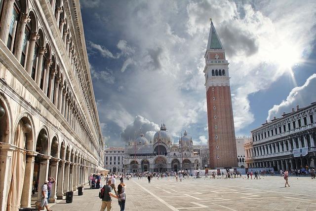 Torre do Campanário, em Veneza