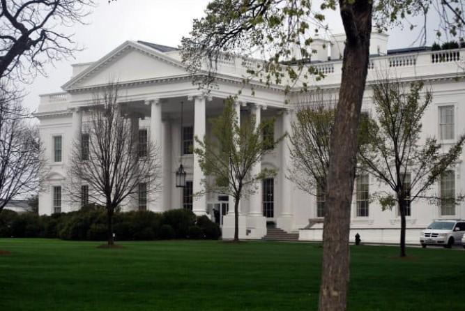 Fachada da Casa Branca