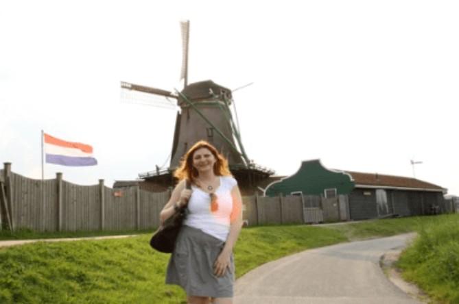 Moinho de vento de Zaanse Schans