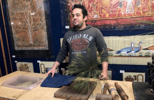 Onde comprar papiro em Gize