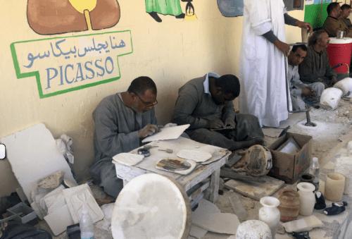 Onde comprar alabastro no Egito