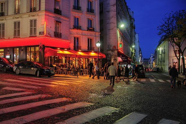 Montmartre de noite