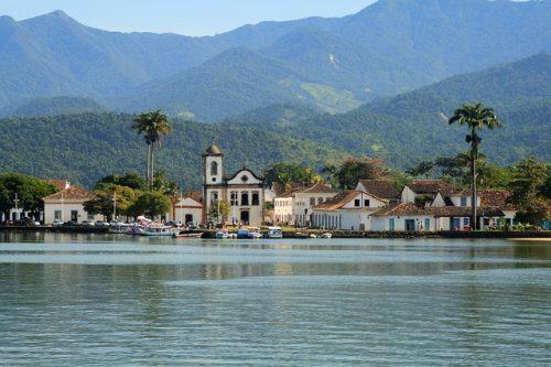 Paraty é Patrimônio da Unesco no Brasil