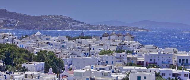 Pacotes para Europa 2021: cidade de Mykonos