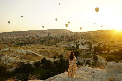 Voar de balão na Europa