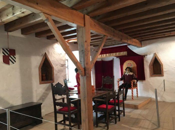 Dentro do Castelo de Predjama