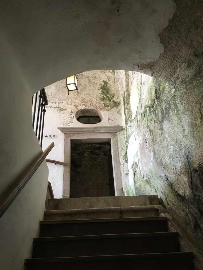 Escada do Castelo de Predjama