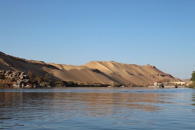 foto do rio Nilo