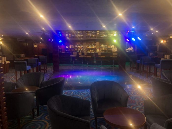 Bar de um Cruzeiro no Nilo