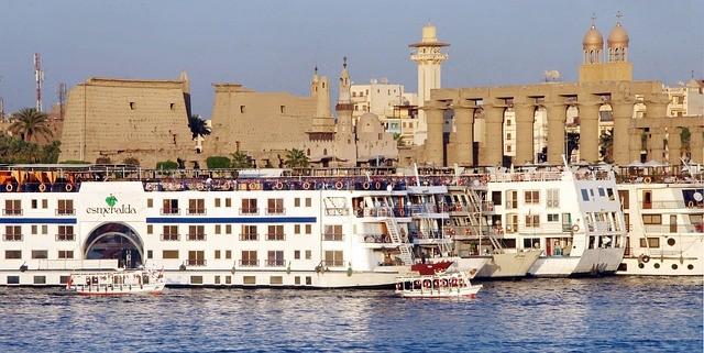 cruzeiros em Luxor