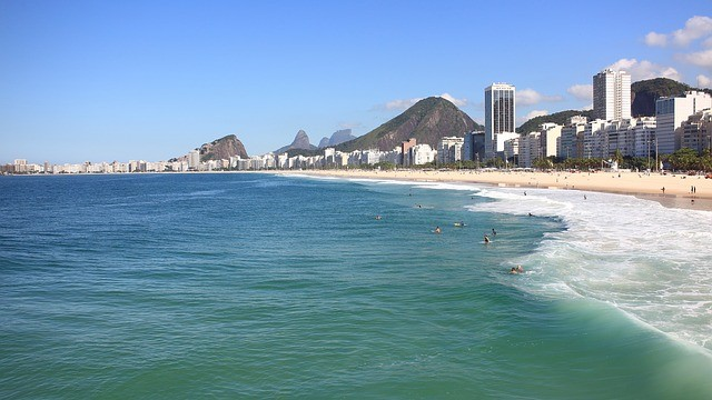 foto da Praia do Leme