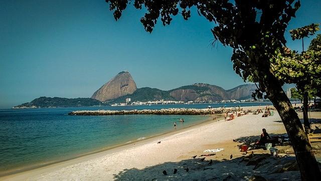 como é a Praia do Flamengo