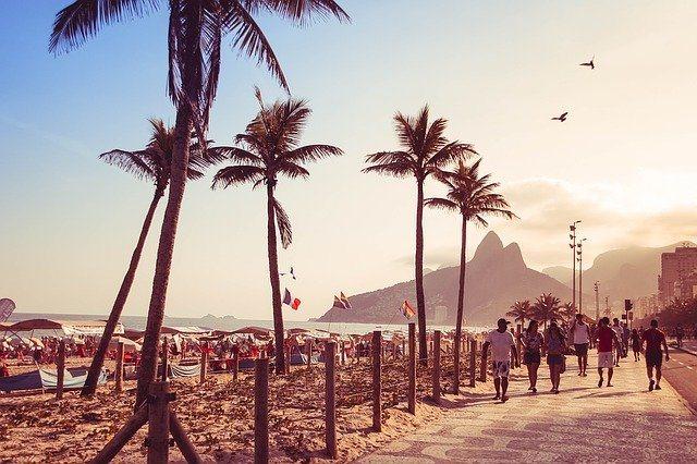 foto da Praia de Ipanema