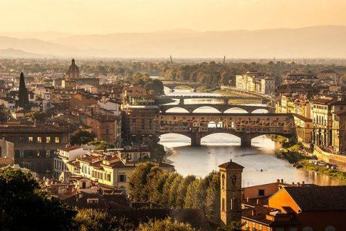 Pacote para a Itália