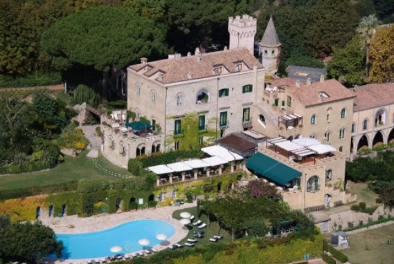onde se hospedar na Costa Amalfitana: hotel Villa Cimbrone