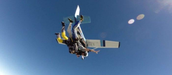 Salto de paraquedas em Auckland