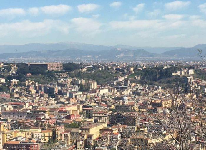 Vista do Castelo de Sant'Elmo