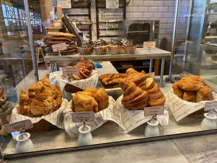 pães da le Pain Quotidien