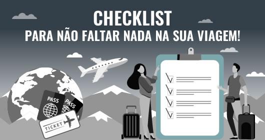 Checklist de ViagemChecklist de viagem