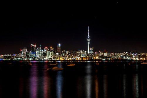 Torre de comunicação da nova zelandia
