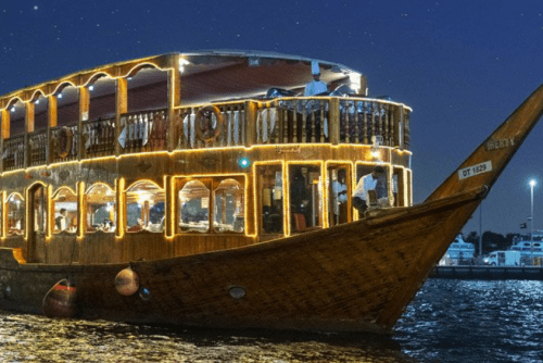 Dinner dhow cruise