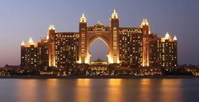 Fachada do Hotel Atlantis