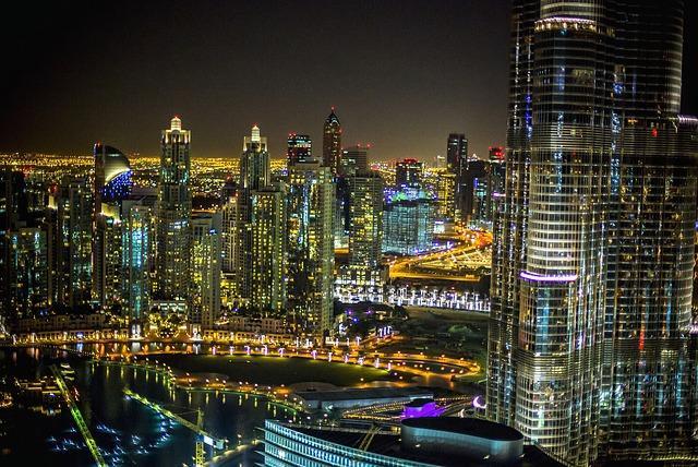 Dubai de noite