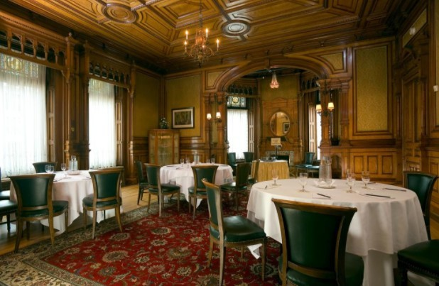 Resturante do Hotel Le Mount Stephen de Montreal