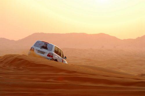 Safari no deserto de Dubai