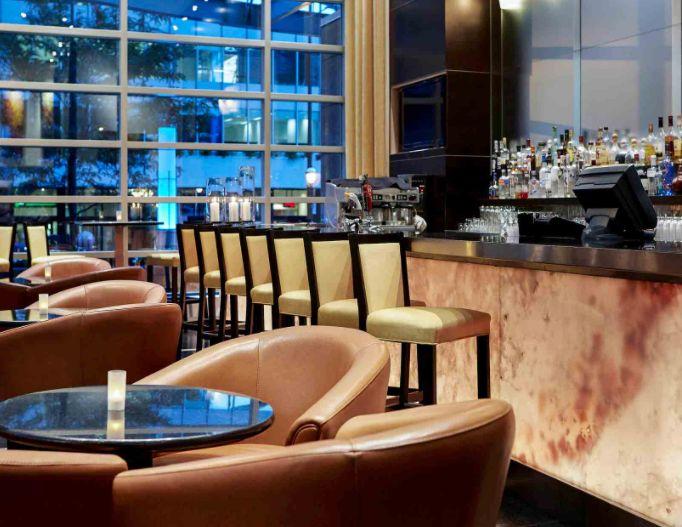 Bar do hotel Sofitel do canada