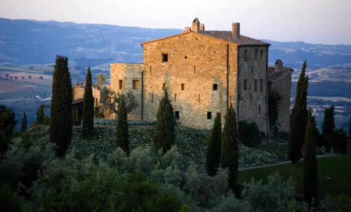 castelo medieval na italia
