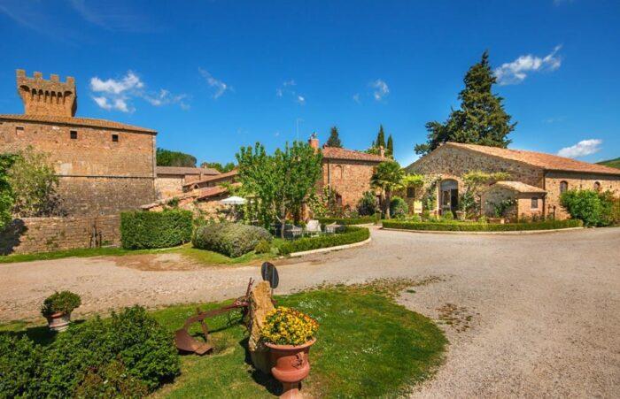 Castelos da Toscana: Castello di Spedaletto