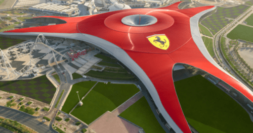 Design do Ferrari World