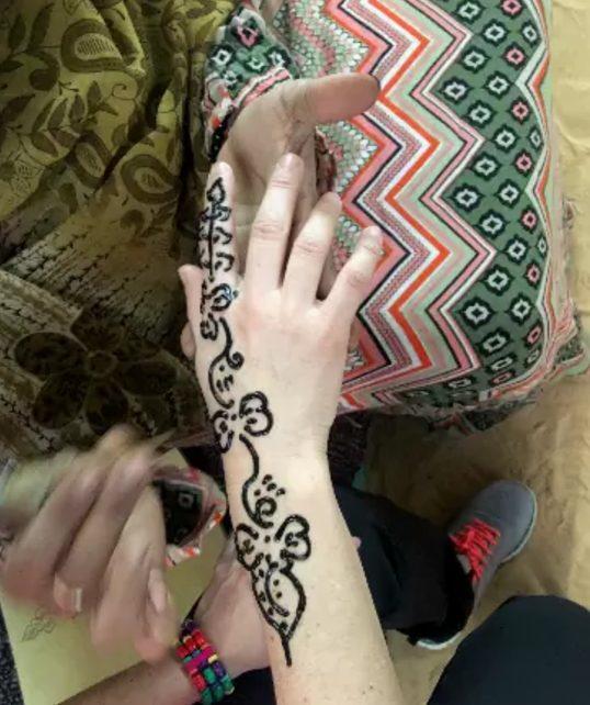 Tatuagem de henna no Egito