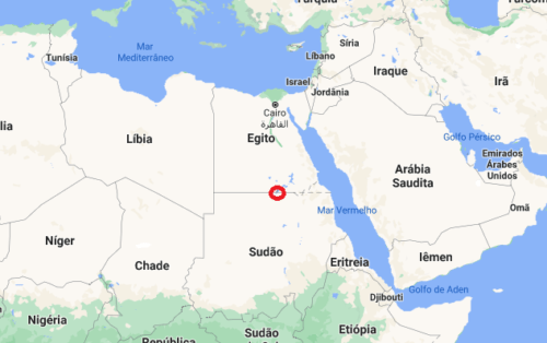 Onde fica Nubia, no Egito