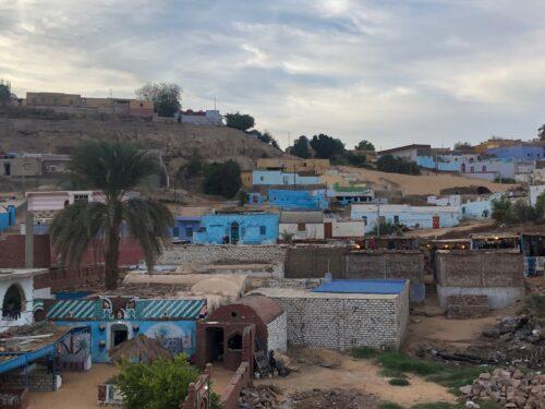 povoado de núbia, no Egito