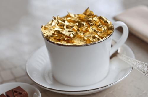 café com ouro Dubai