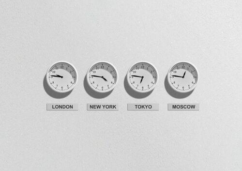 Diferença de horário