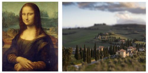 Mona lisa Toscana