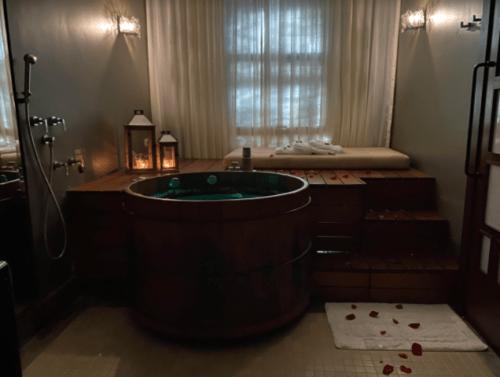 banho de ofuro spa reinassance