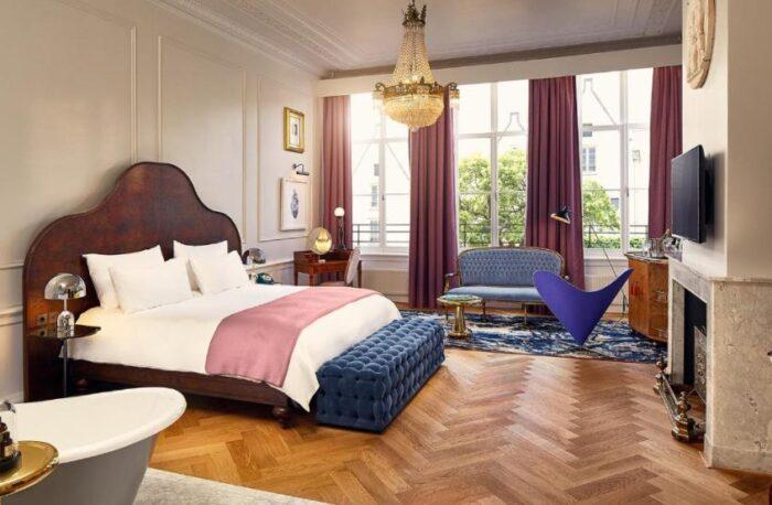Suíte do hotel Pulitzer Amsterdam