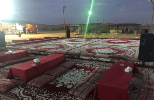 como é um acampamento beduíno