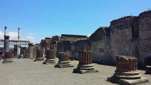 foto de pompeia italia