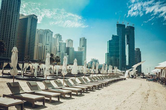 Praia de Dubai