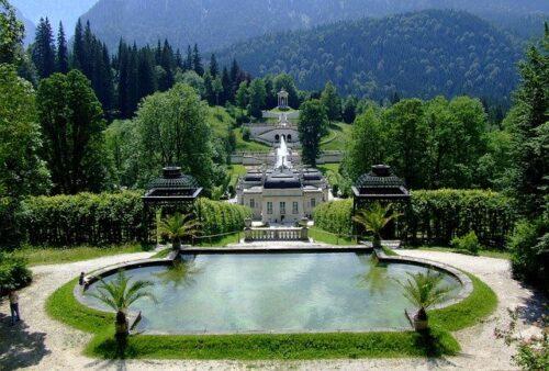 foto Palácio de Linderhof